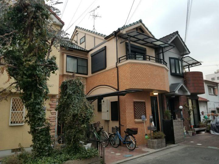 【八尾市】 Y様邸 |四條畷 門真 寝屋川 外壁塗装・屋根塗装 アビリティペイント