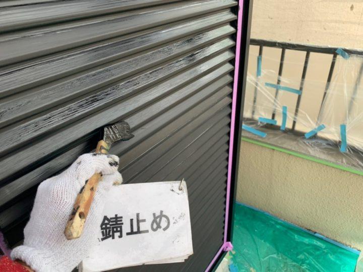 雨戸塗装工事