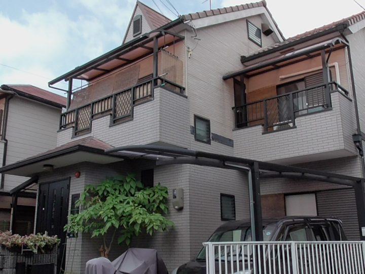 【寝屋川市】N様邸 |四條畷 門真 寝屋川 外壁塗装・屋根塗装 アビリティペイント  施工前