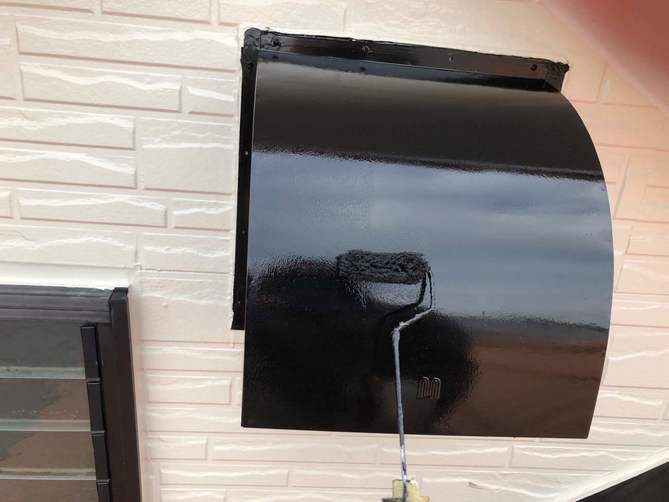換気フード塗装工事