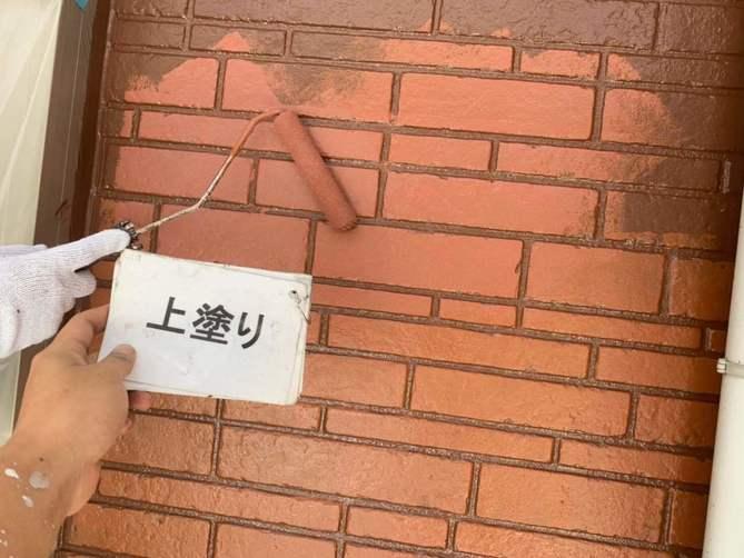 外壁塗装 デザイン塗装