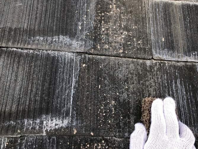 屋根塗装 ケレン清掃