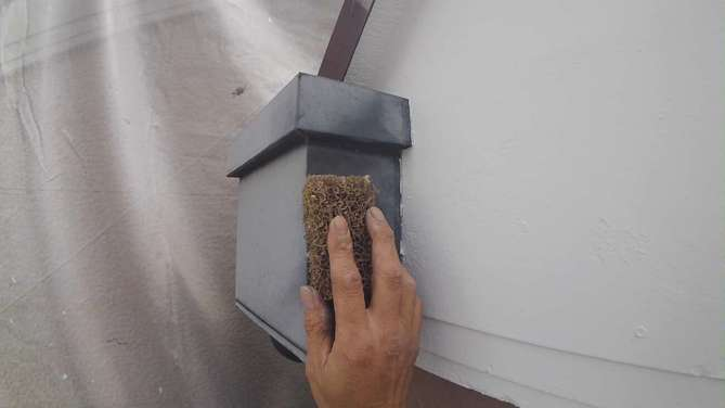 集水器塗装工事