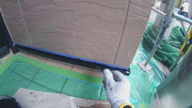 水切り塗装工事