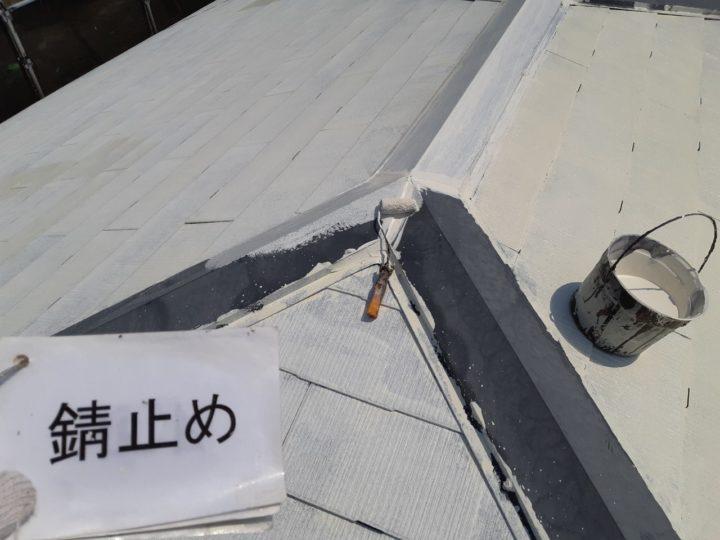 屋根板金 錆止め