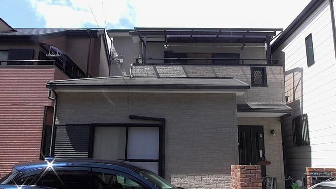 【寝屋川市】O様邸 |四條畷 門真 寝屋川 外壁塗装・屋根塗装 アビリティペイント  施工前