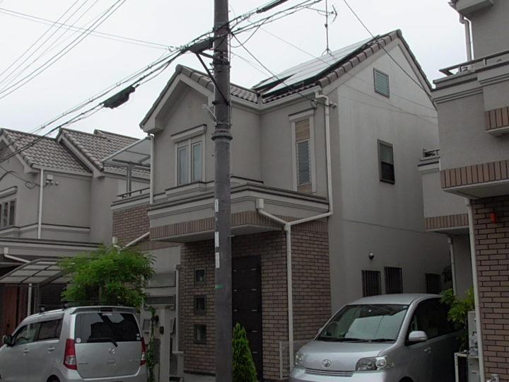 【東大阪市】M様邸 |四條畷 門真 寝屋川 外壁塗装・屋根塗装 アビリティペイント  施工前