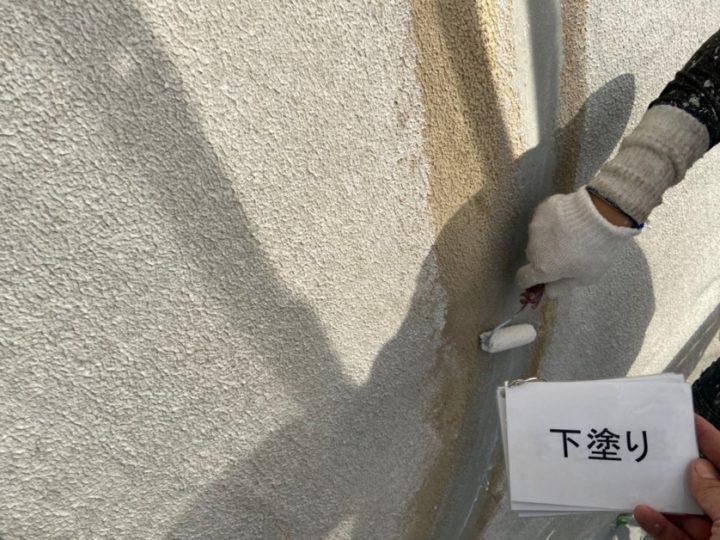 外壁塗装 プライマー塗布