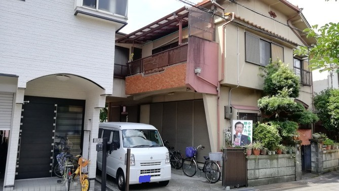 【東大阪市】K様邸|四條畷 門真 寝屋川 外壁塗装・屋根塗装 アビリティペイント 施工前