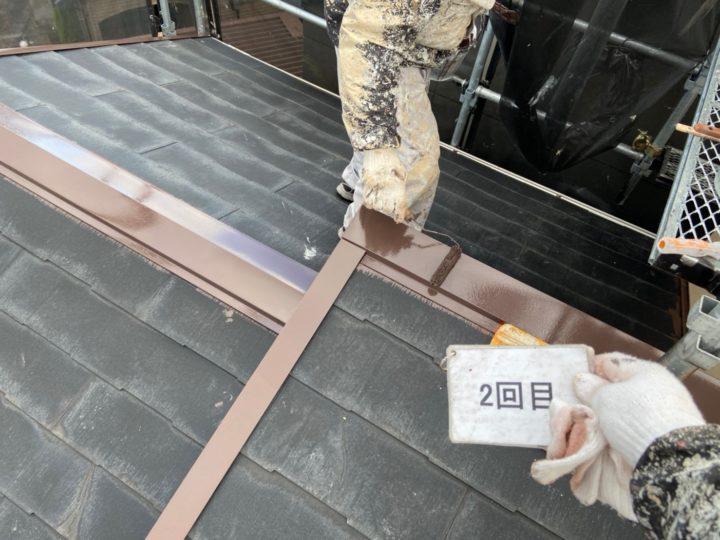 板金塗装工事 2回目