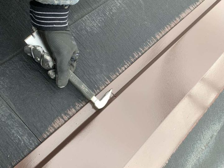 板金塗装工事 釘抜き