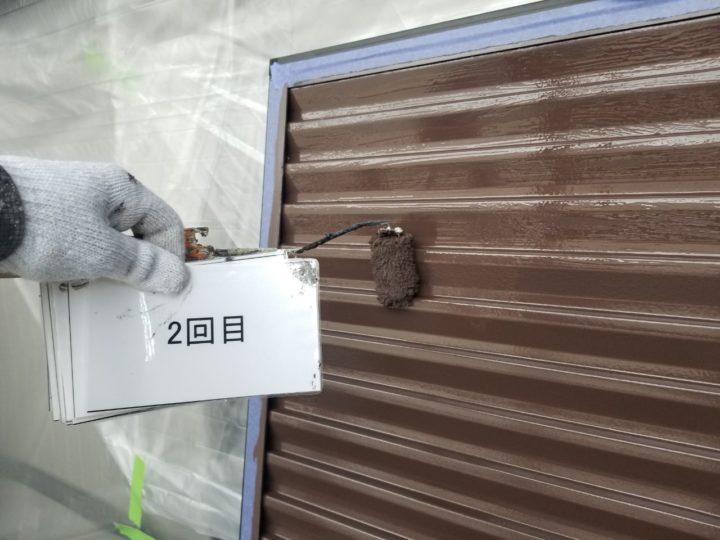 雨戸塗装工事 2回目