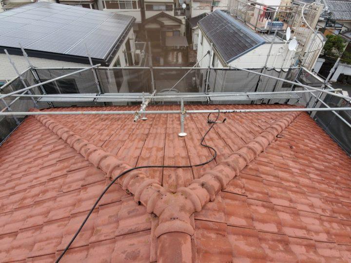 【寝屋川市】屋根塗装・付帯部塗装・雨漏れ補修 T様邸 施工前