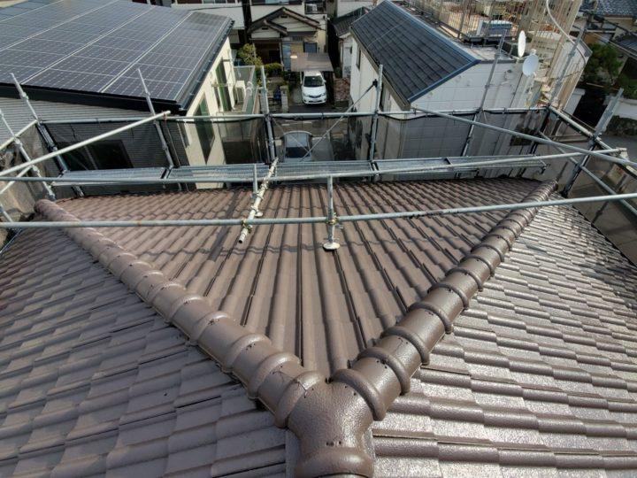 【寝屋川市】屋根塗装・付帯部塗装・雨漏れ補修 T様邸