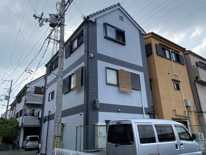 【門真市】H様邸  門真市 外壁塗装・屋根塗装・付帯部塗装 アビリティペイント