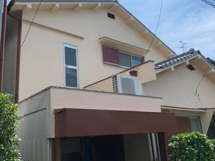 大東市K様邸 この度は我が家の塗装工事に尽力を頂き有難う御座いました。