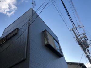 守口市S様邸 隣との壁が共有している外壁工事で・・・