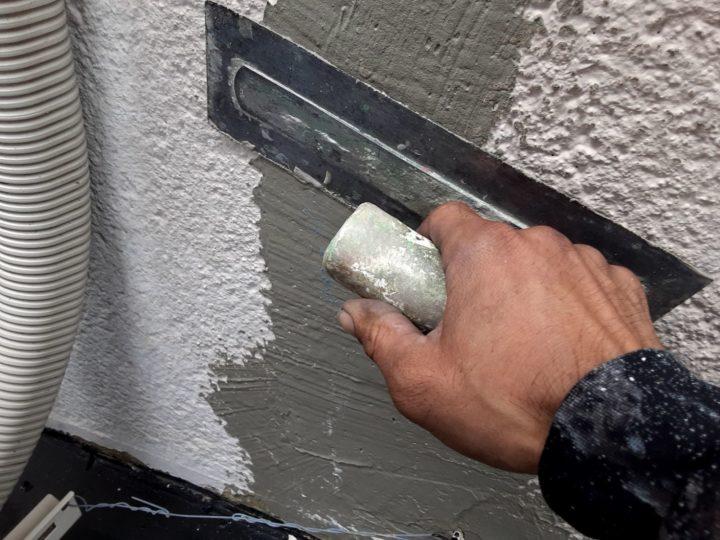 外壁塗装 下地処理③