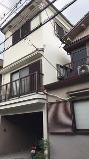 四條畷市N様 梅雨に入る頃に塗装を依頼したので…