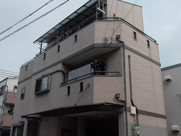 門真市K様 この度は私達にとって我が家にとって初めての外壁塗装 施工前