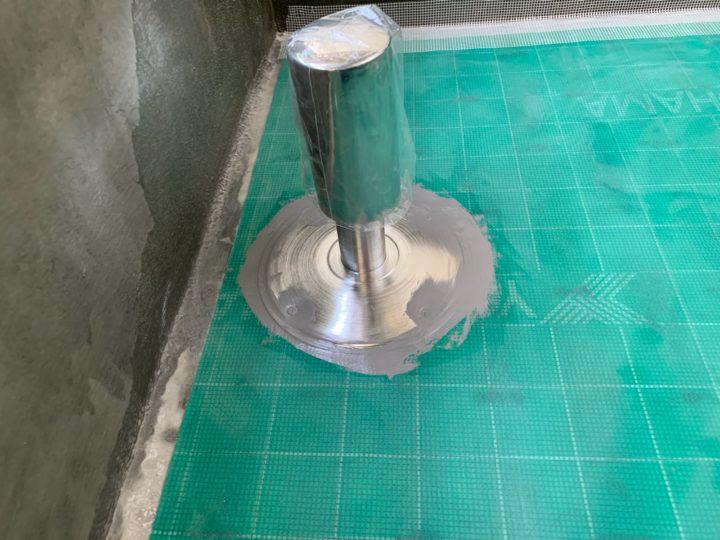 防水工事 シート貼り