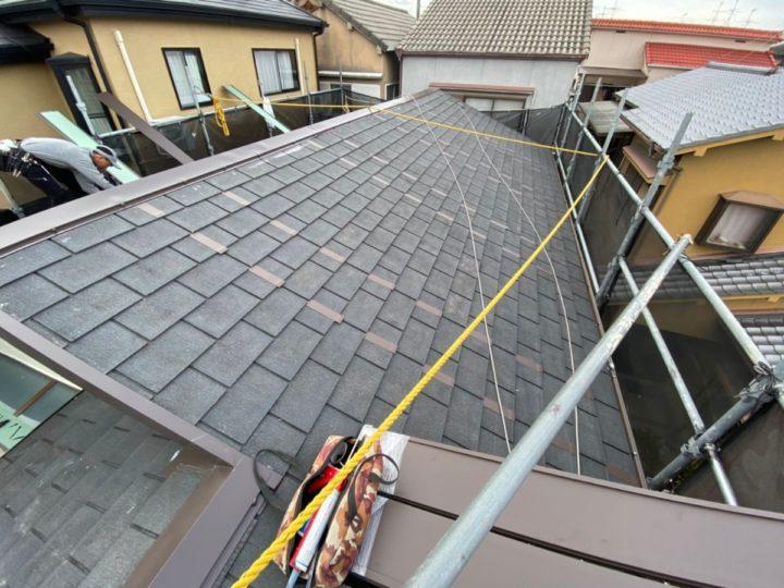 屋根工事 屋根ジョイナー取付