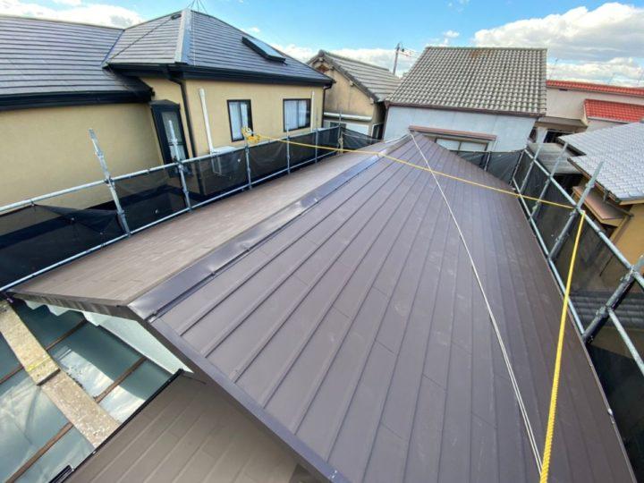 屋根工事 施工完了