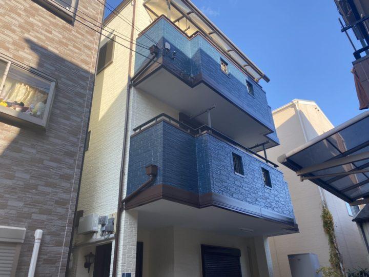 【守口市】H様邸|外壁塗装・屋根塗装・付帯部塗装・シール工事・防水工事 アビリティペイント