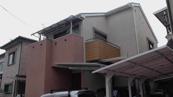 【寝屋川市】S様邸|寝屋川 外壁塗装・屋根塗装・付帯部塗装・防水工事 アビリティペイント