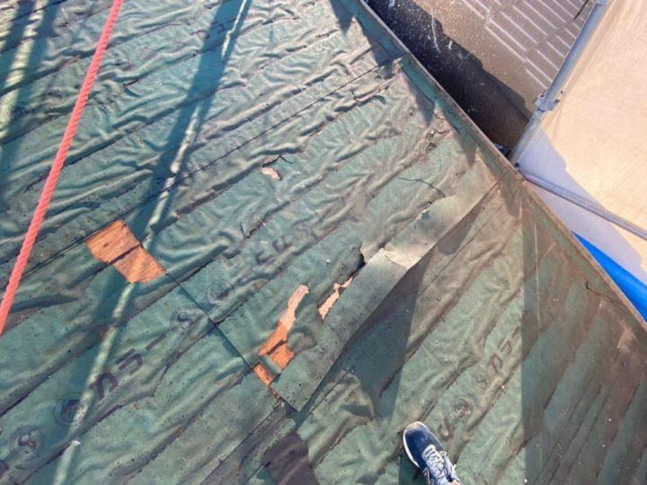 屋根葺き替え工事 施工前