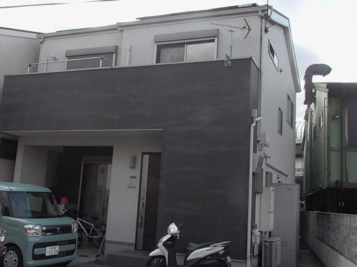 門真市K様 塗装の仕上がりはとても綺麗で嬉しかった・・・ 施工前