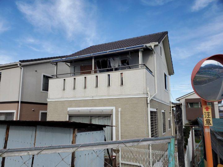 【四條畷市】U様邸|四條畷 外壁塗装・付帯部塗装・シール工事 アビリティペイント