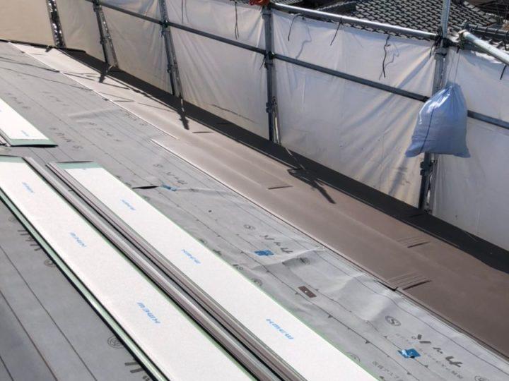 屋根 カバー工事 新規屋根材敷設