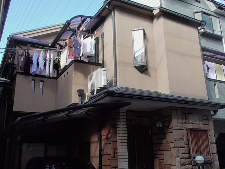 四條畷市K様 近所からの苦情もなく終わって良かったと思います。 施工前