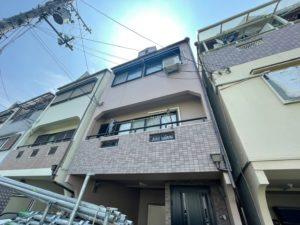 四條畷市O様 作業も本当に丁寧で、近隣の家も塗り替えは終わっているのですが、その出来映えは我が家のが一番です。
