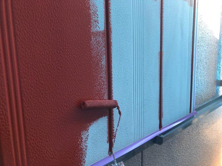 雨戸塗装 錆止め