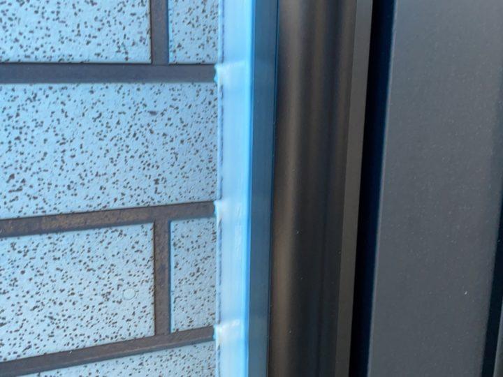 外壁塗装 開口部施工完了