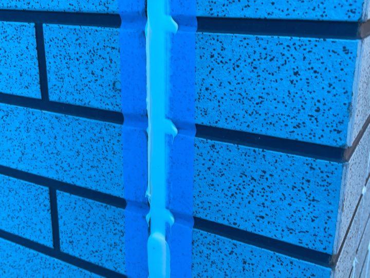 外壁塗装 目地シール打設