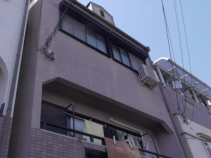 四條畷市O様 作業も本当に丁寧で、近隣の家も塗り替えは終わっているのですが、その出来映えは我が家のが一番です。 施工前