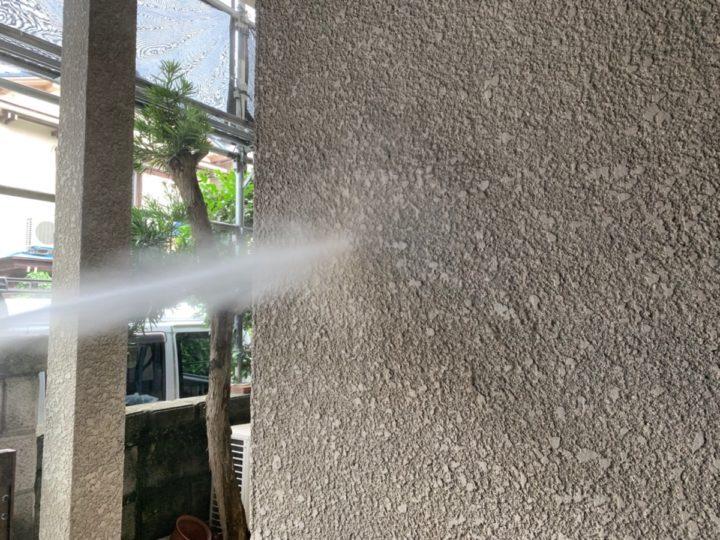 外壁塗装 高圧洗浄