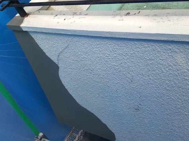 外壁 補修 補修完了