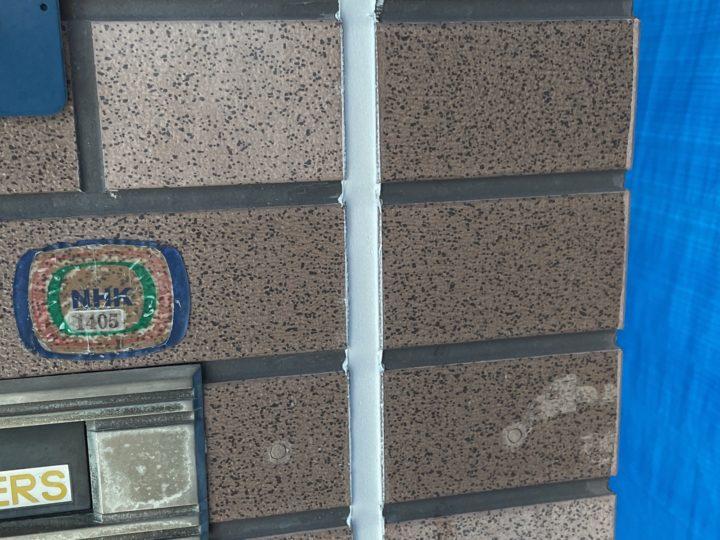 外壁塗装 目地シール施工完了