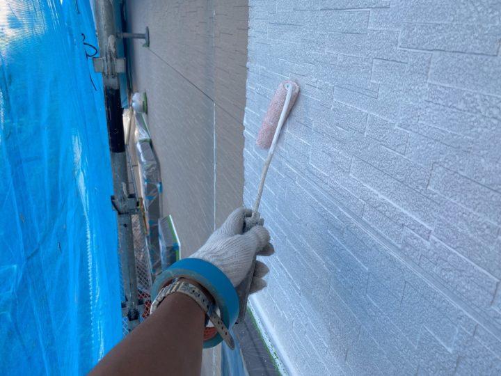 外壁塗装 下塗り 1回目