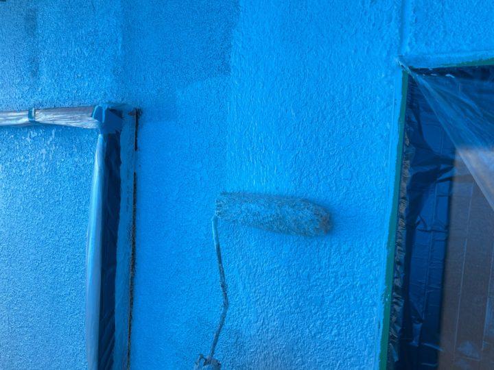 外壁塗装 下塗り 2回目