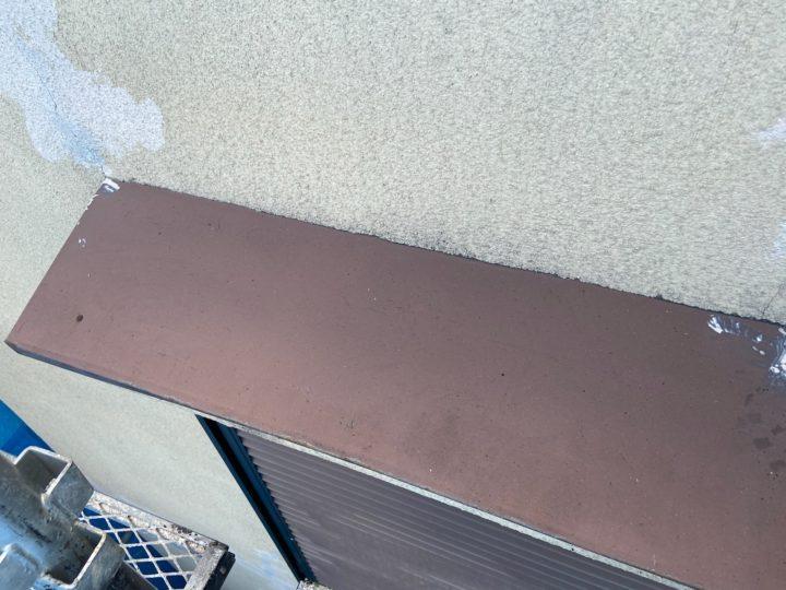 庇塗装 施工前