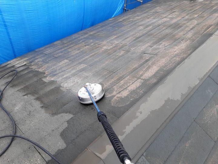 屋根カバー工事 高圧洗浄