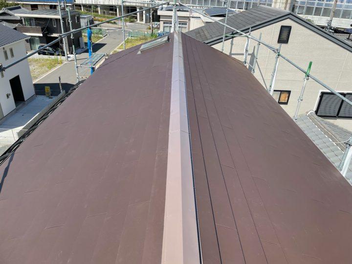 屋根カバー工事 施工完了